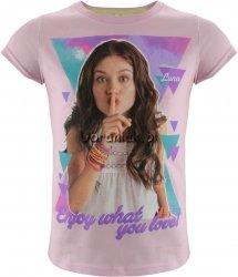 T-shirt Soy Luna różowy