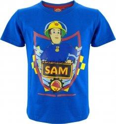 Koszulka Strażak Sam niebieska