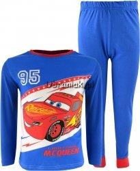 Piżama Auta Cars niebieska