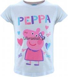 T-shirt Świnka Peppa biały