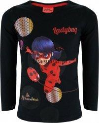 Bluzka Miraculum LadyBug Miraculous czarna