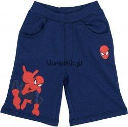 Spodenki Spiderman Go granatowe