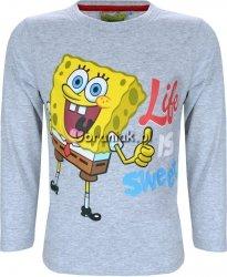 Bluzka SpongeBob Sweet szara