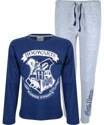Piżama Harry Potter Hogwarts niebieska