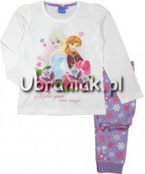 Piżama Kraina Lodu Anna i Elsa fioletowa