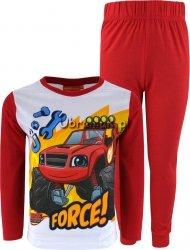 Piżama Blaze i Mega Maszyny czerwona