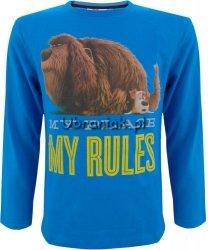 Bluzka Sekretne życie zwierzaków MY RULES niebieska