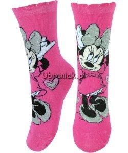 Skarpetki Myszka Minnie różowe