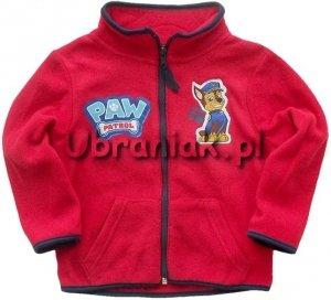 Bluza polarowa Psi Patrol czerwona