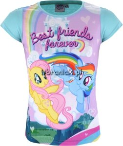 T-shirt Kucyki Pony Friends zielony