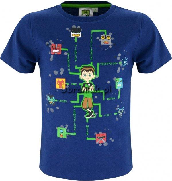 T-shirt Ben 10 granatowy