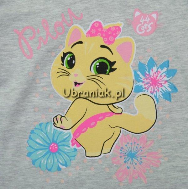 Piżama 44 koty Pilou róż
