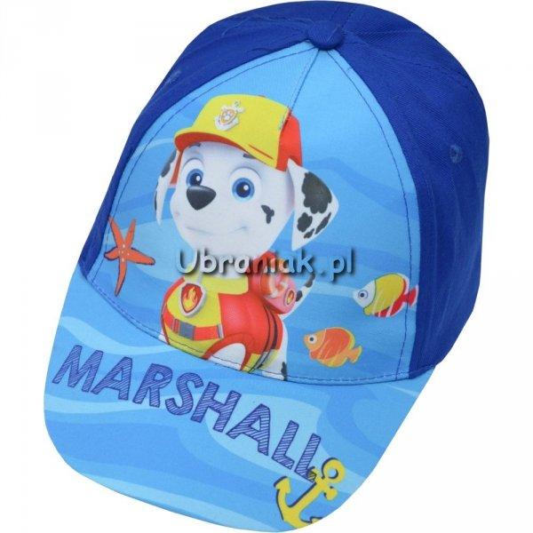Czapka Psi Patrol Marshall z daszkiem niebieska