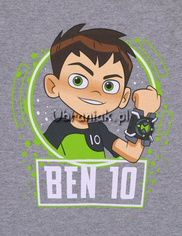 Koszulka T-shirt Ben 10 szara nadruk