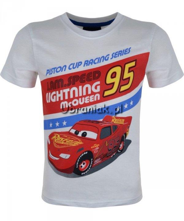 T-shirt Auta Piston Cup biały