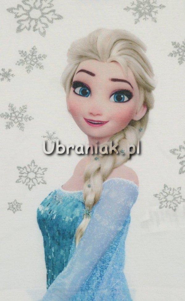 Piżama Kraina Lodu Elsa w płatki śniegu róż postac