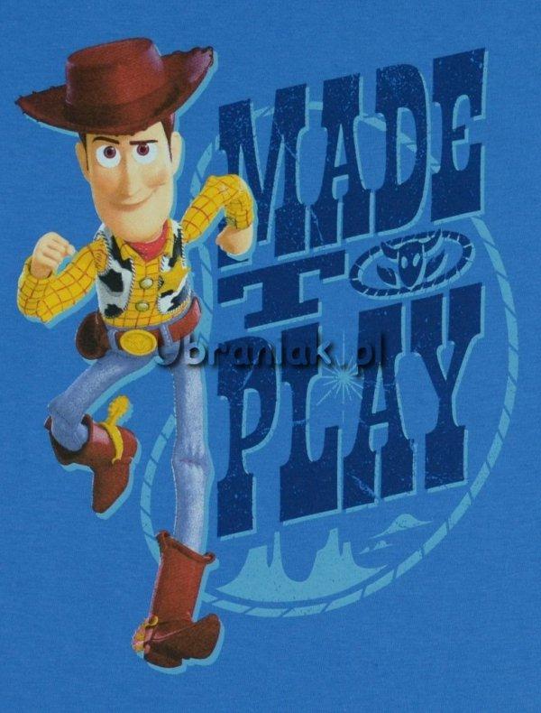 T-shirt Toy Story Chudy niebieski