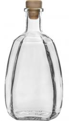 Butelka Bankietowa z korkiem 500 ml