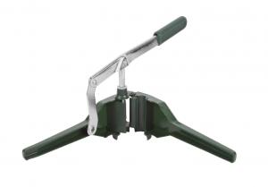 Korkownica trójramienna metalowa ALFA zielona