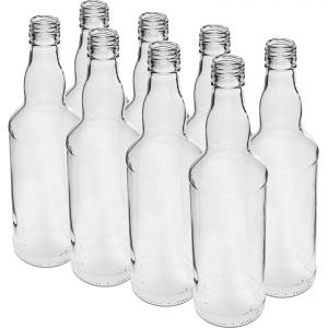 Butelka 500ml na wódkę 8 szt.