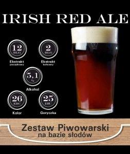 Surowce piwowarskie na 23L. - Irish Red Ale