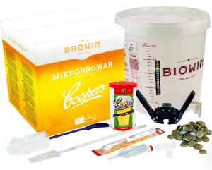 MikroBrowar - zestaw do produkcji piwa w domu