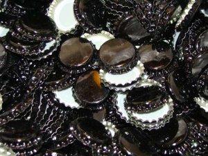 Kapsle czarne 26mm
