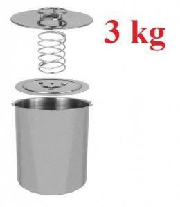 Szynkowar nierdzewny 3 kg