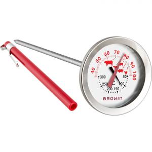 Solidny termometr do potraw i piekarnika 2 w 1