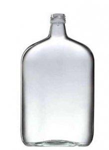 Butelka bezbarwna Taschenflasche 1000ml + zakrętka