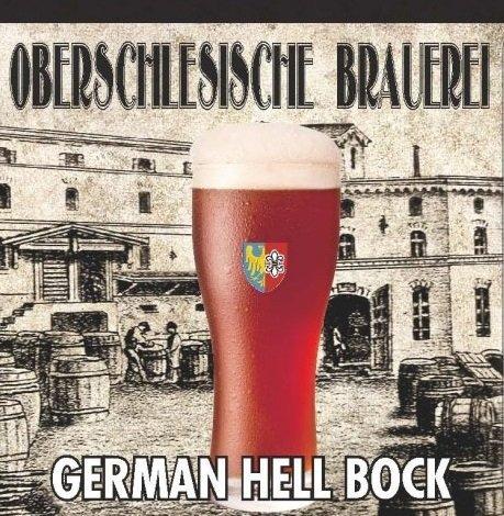 """Oberschlesische Brauerei """"German Hell Bock"""" - 1,7kg + drożdże"""