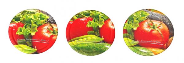 Zakrętka Pomidor fi 82mm, 6 zaczepów