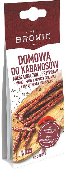 Domowa do kabanosów - mieszanka ziół i przypraw 30g