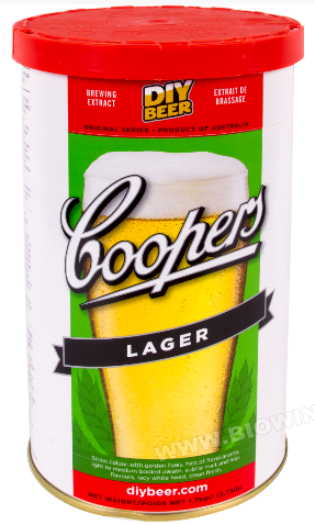 Koncentrat do wyrobu piwa LAGER 1,7 kg