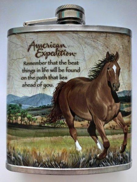 Piersiówka z koniem 200ml