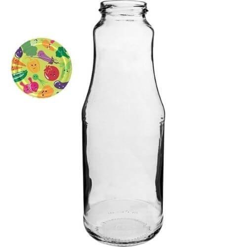 Butelka TO 750 ml z zakrętką fi 43 - 1 szt.