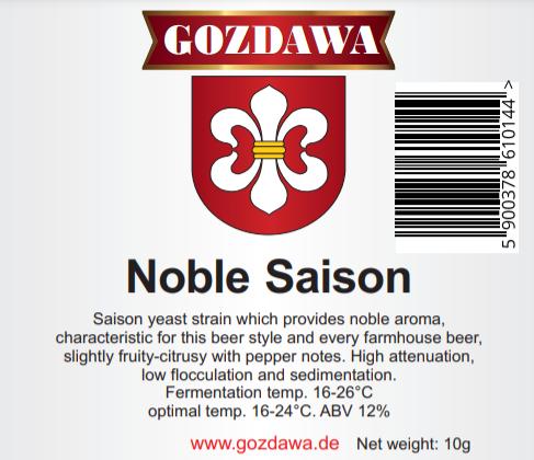 Drożdże Noble Saison - 10g