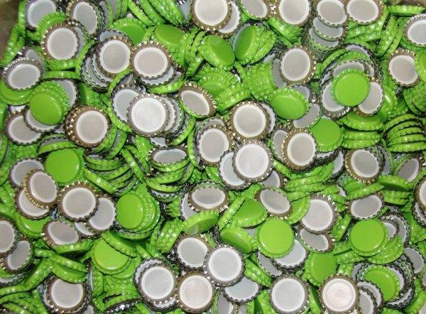 Kapsle zielone 26mm