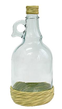Butelka Gallone w oplocie z zakrętką 1 l
