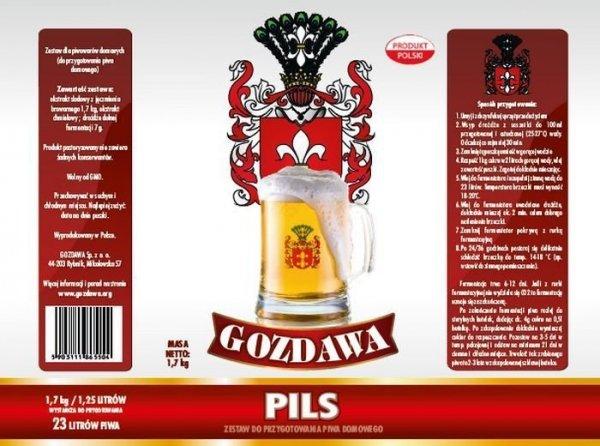 Pils 1,7kg - Gozdawa - dolna fermentacja