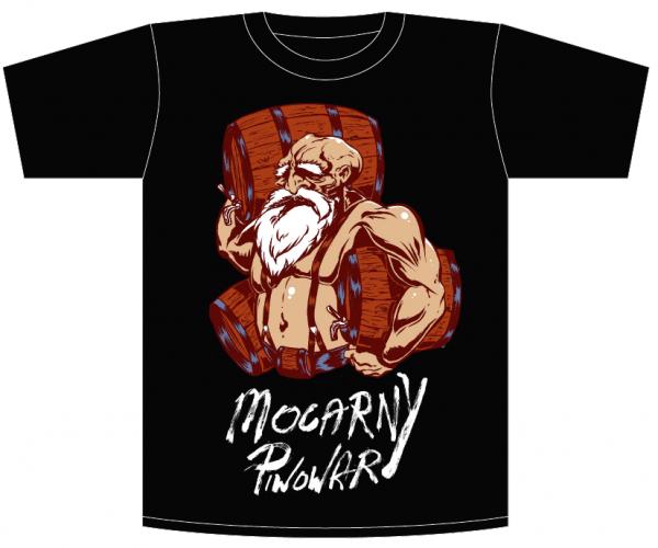Koszulka, T-shirt Mocarny Piwowar roz. XXL