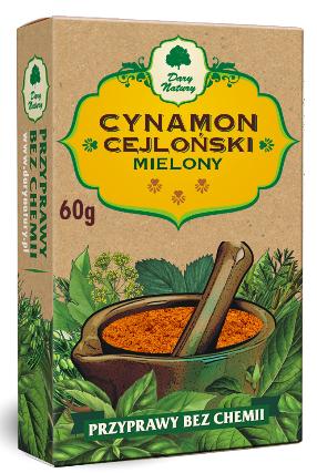 Cynamon Cejloński mielony 60g