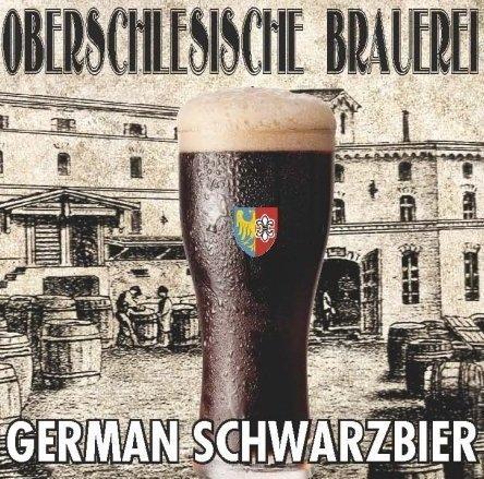 """Oberschlesische Brauerei """"German Schwarzbier"""" - 1,7kg + drożdże"""