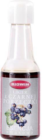 Esencja smakowa - likier z czarnej porzeczki 40ml