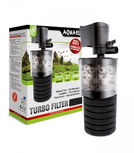 TURBO FILTR 500 CERAMIKA+GĄBKA AKWA DO 150L AQUAEL