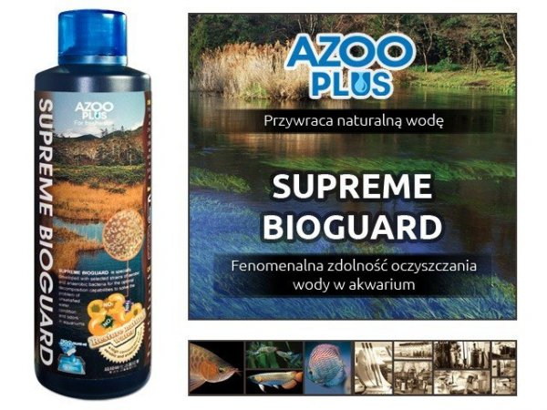 Azoo Supreme Bioguard 250Ml Ekosystem Hit!!!