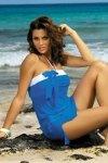 Plážová tunika Marko Mia Surf M-241 modrá