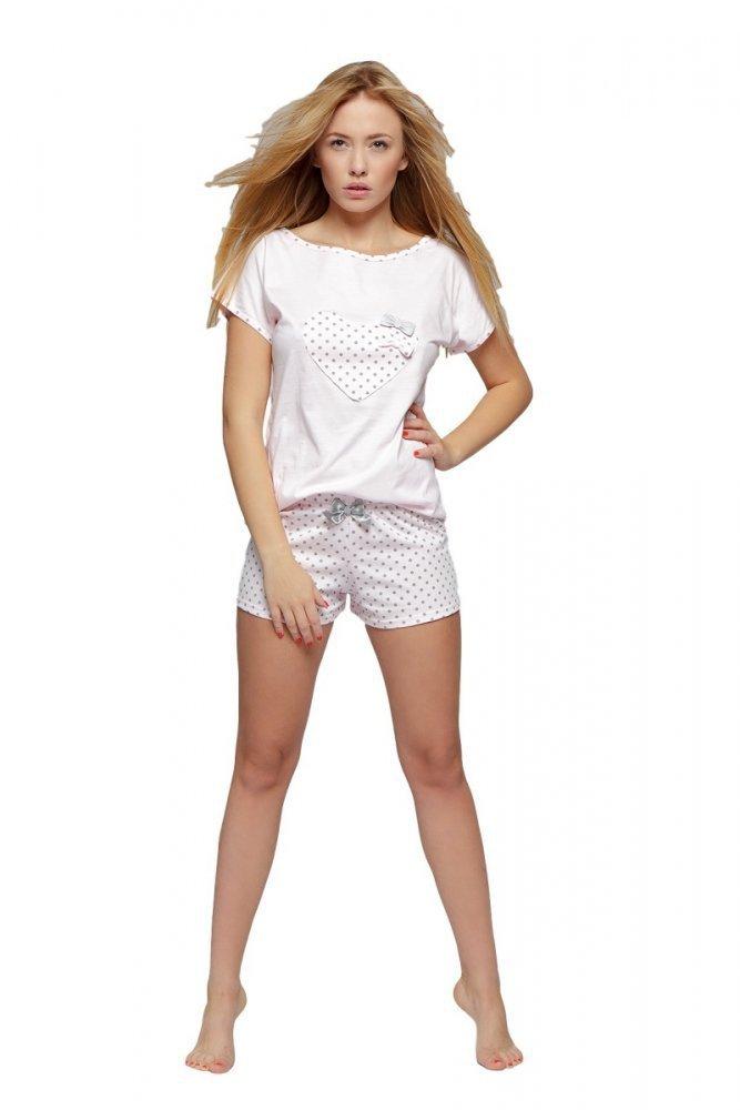 1d01c741bbce Sensis Groszki Dámské pyžamo - Dámská pyžama - Noční prádlo