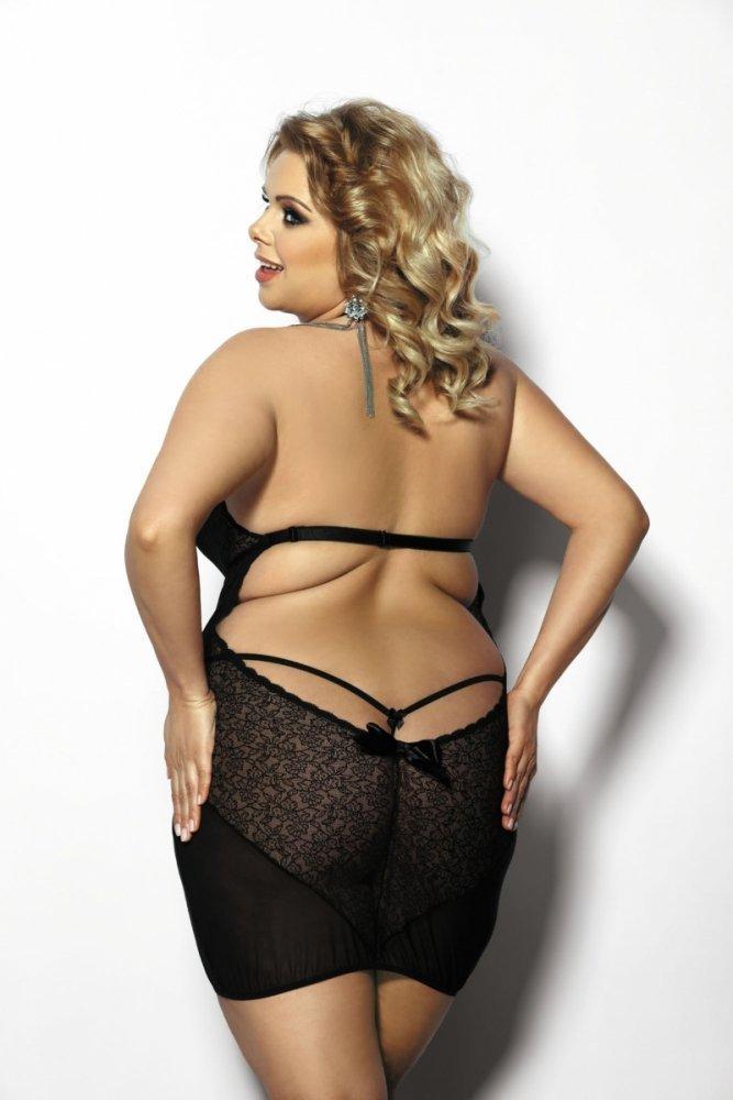 5b333b72a Anais Amysa Košilka Size Plus - Plus Size XXXL - Erotické spodní prádlo