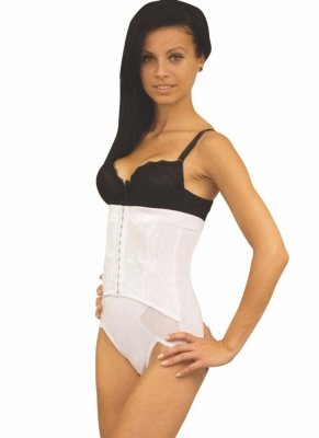 Linea Fashion 600 white Stahovací kalhotky - Zeštíhlující a ... eb790025d1